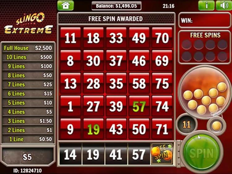 Slingo Extreme Slots Online