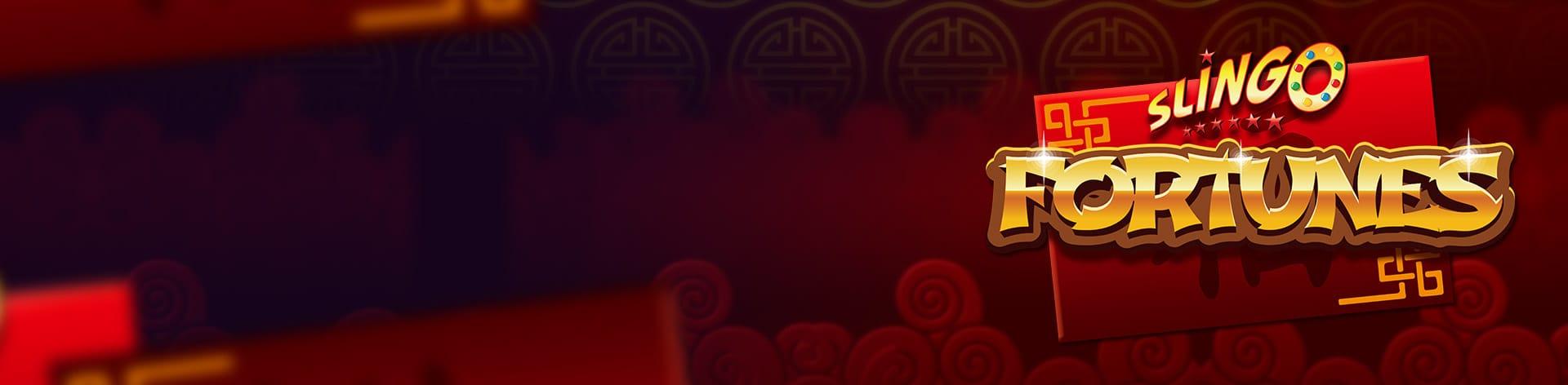 Slingo Fortunes Slot Logo Mega Reel