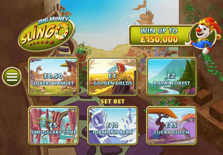Slingo Casino Game Play