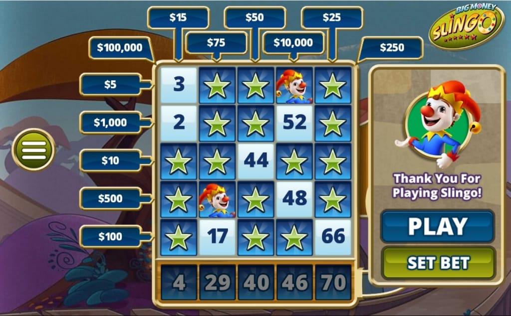 Slingo Casino Casino Game