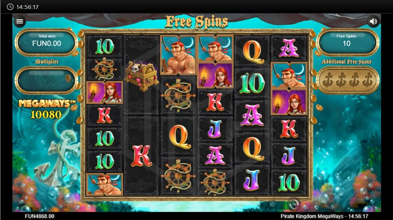 Pirate Kingdom MegaWays Slots Online