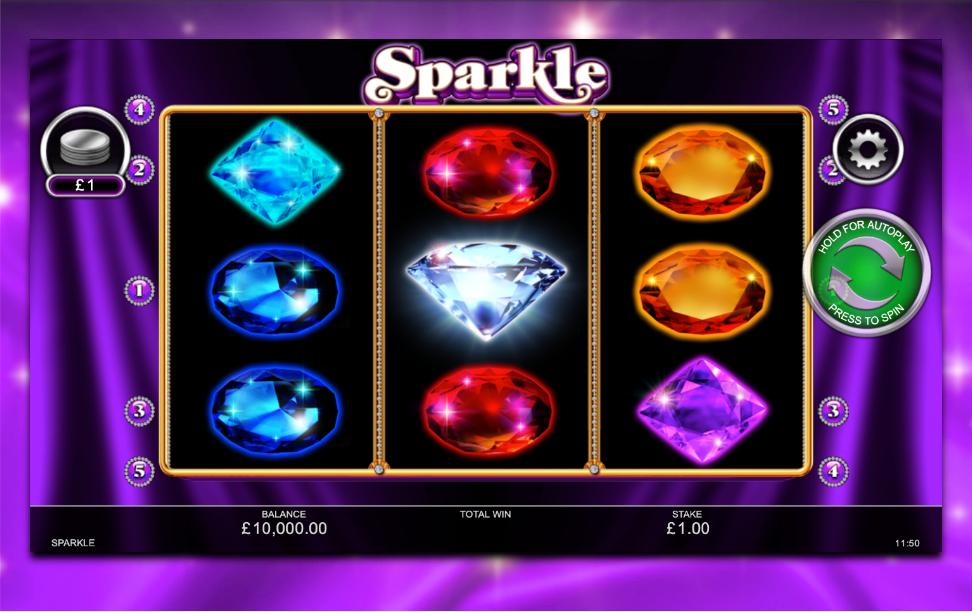 Sparkle Slot Game