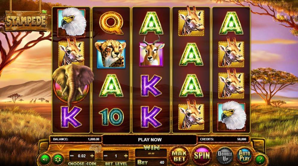 Stampede Jackpot Slots Online
