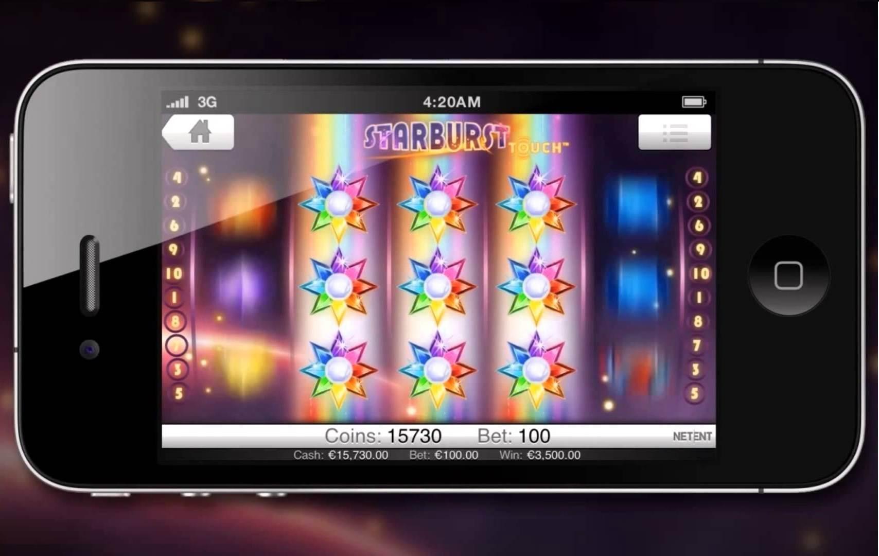Starburst Mobile Slots