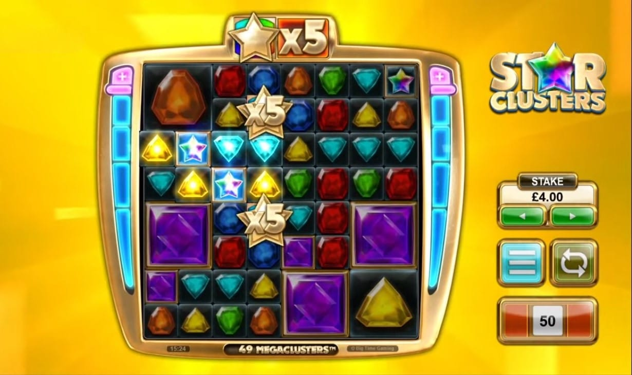 Star Clusters Slot Game