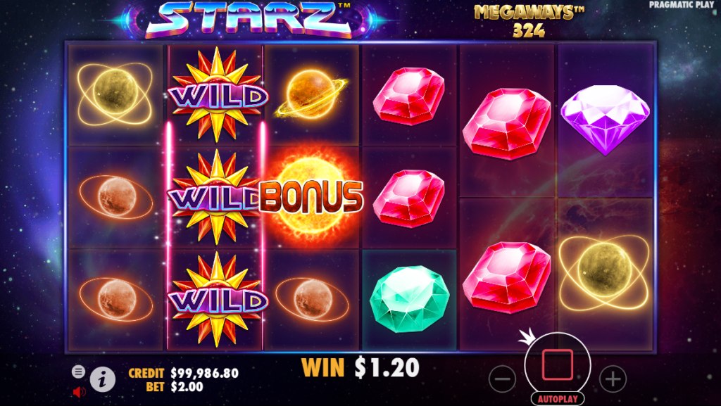 Starz MegaWays Slot Online