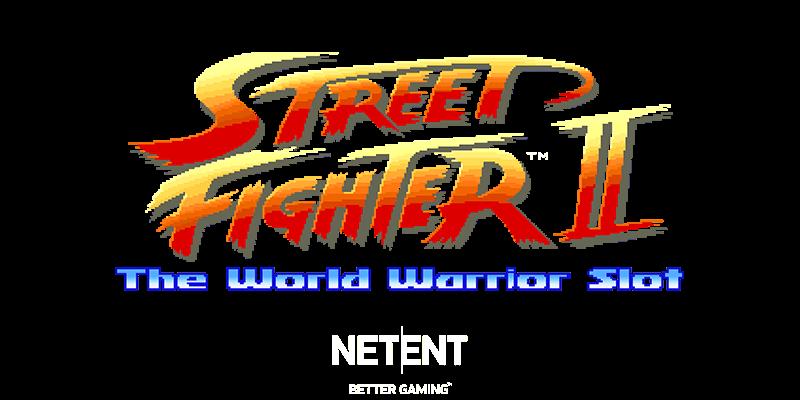 Street Fighter 2 Slot Logo Mega Reel