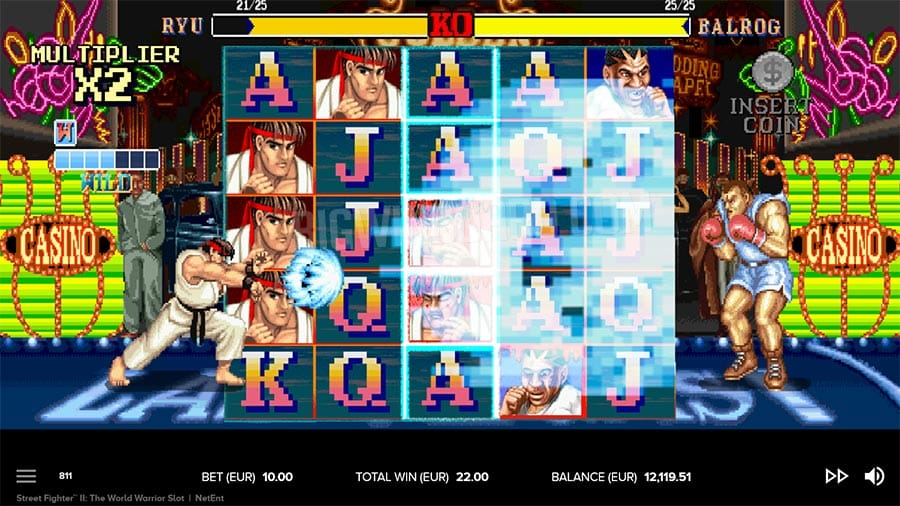 Street Fighter 2 Slot Game