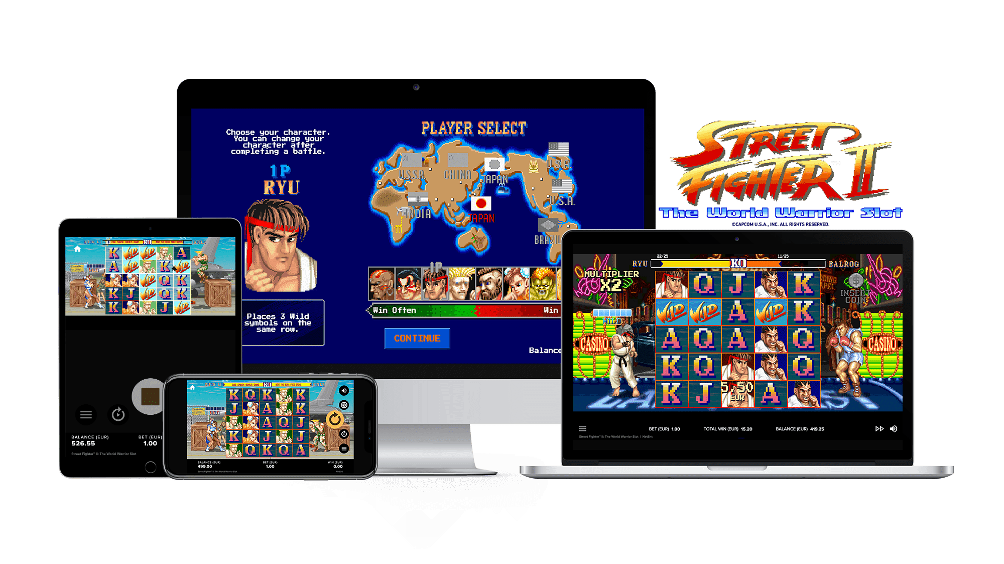Street Fighter 2 Mobile Slots