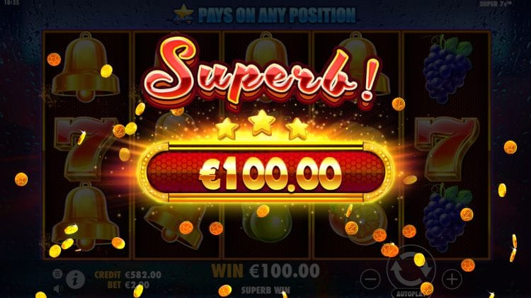 Super 7s Slot Super Win