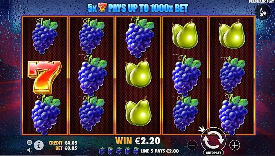 Super 7s Slots Game