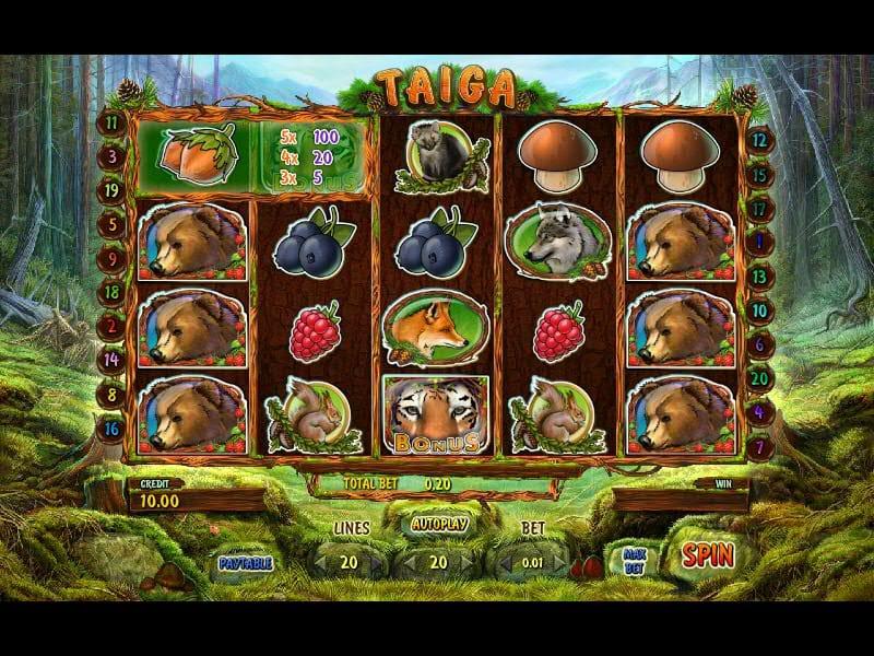 Taiga Slots Online