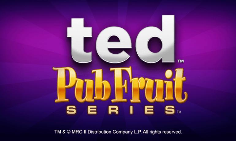 Ted Pub Fruit Series Slot Logo Mega Reel