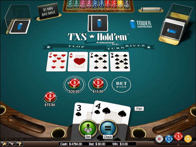 Txs Holdem Pro Game Play