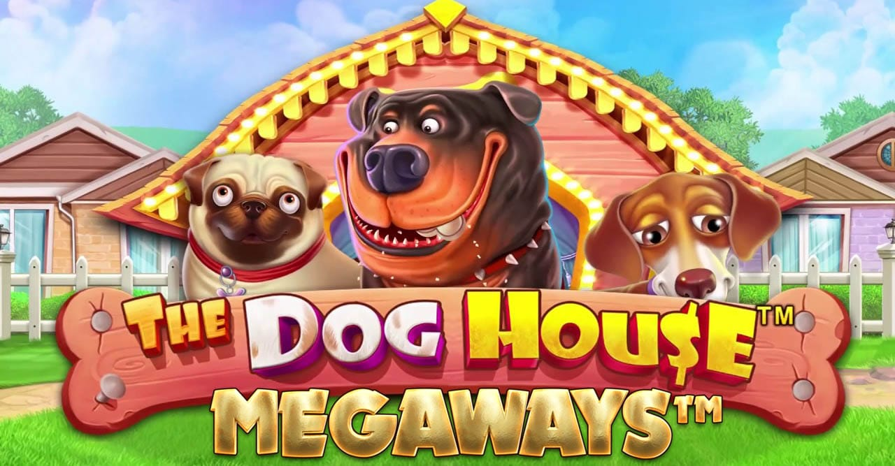 The Dog House Megaways Slot Logo Mega Reel
