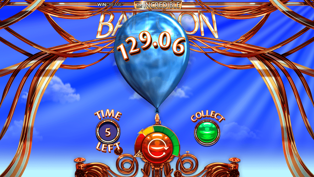 The Incredible Balloon Machine Slot Gameplay