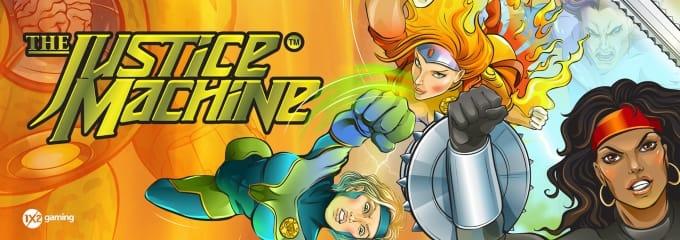 Justice Machine Slot Online Mega Reel