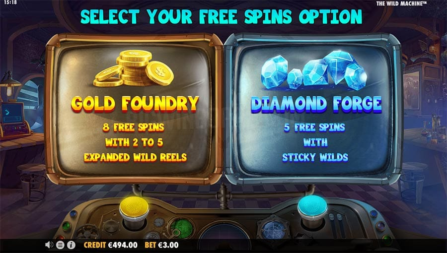 The Wild Machine Slots Bonuses