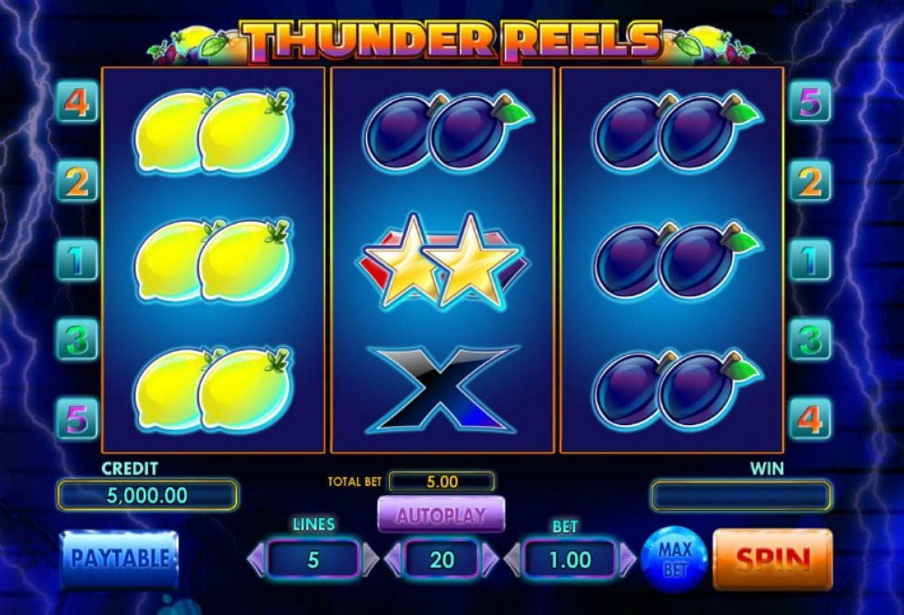 Thunder Reels slots