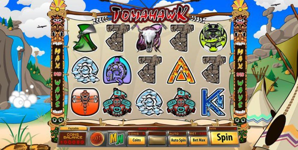 Tomahawk Slots Reels