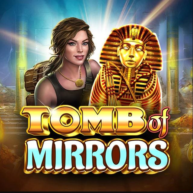 Tomb of Mirrors Slot Logo Mega Reel