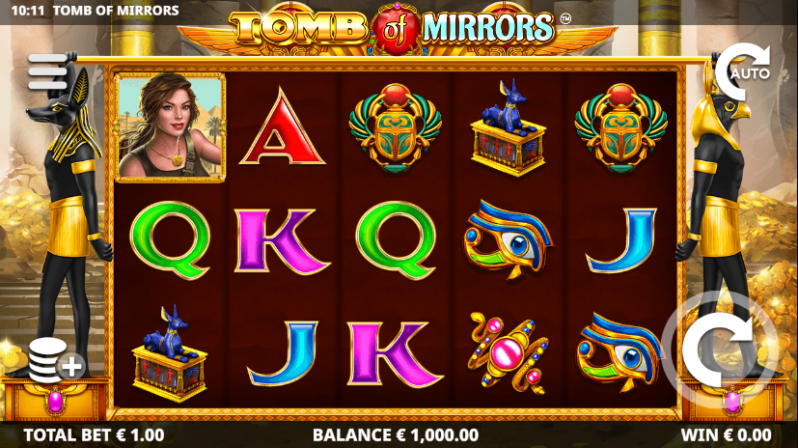 Tomb of Mirrors Slots Reels
