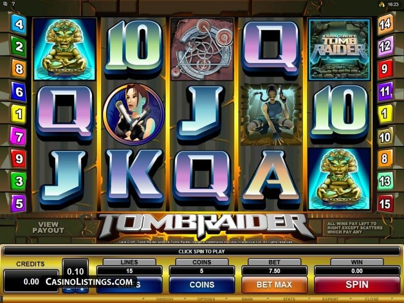 Tomb Raider Slots Online