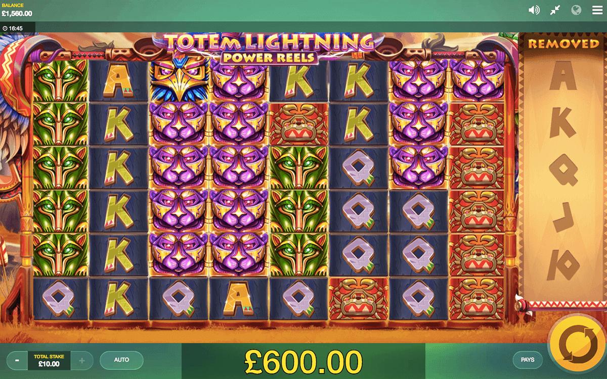 Totem Lightning Power Reels slots online