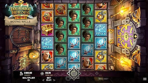Treasure Heroes Slots Game