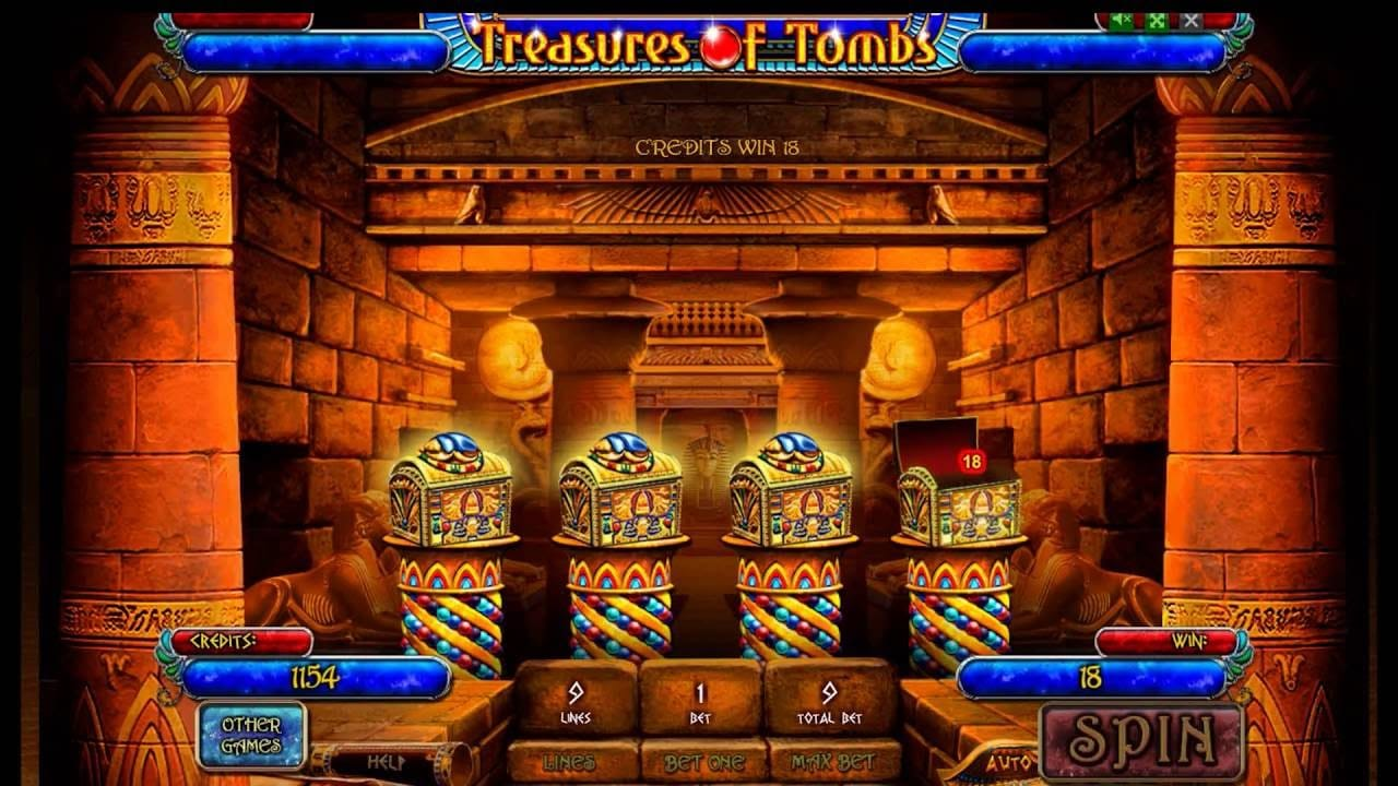 Treasures Of Tombs Casino Game
