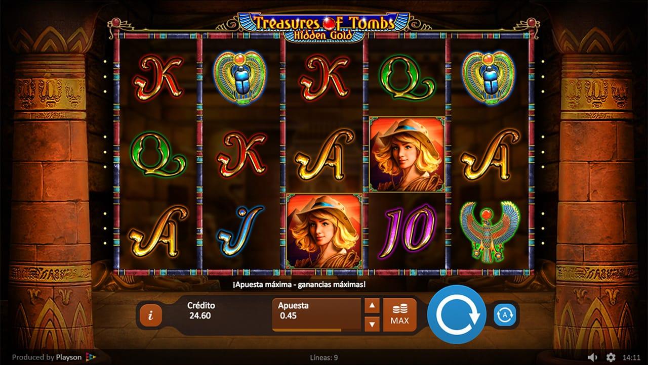 Treasures Of Tombs Slot Casino