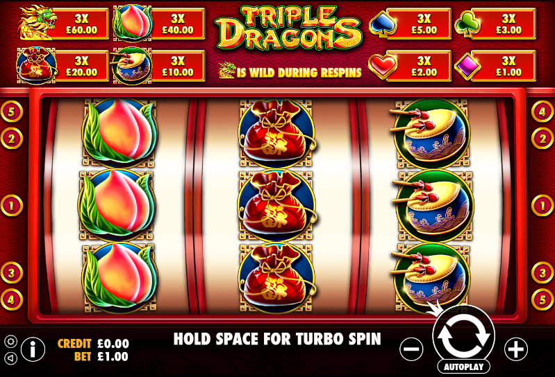 Triple Dragons Gameplay