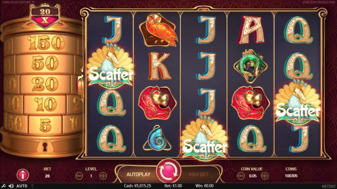 Turn Your Fortune Slots UK