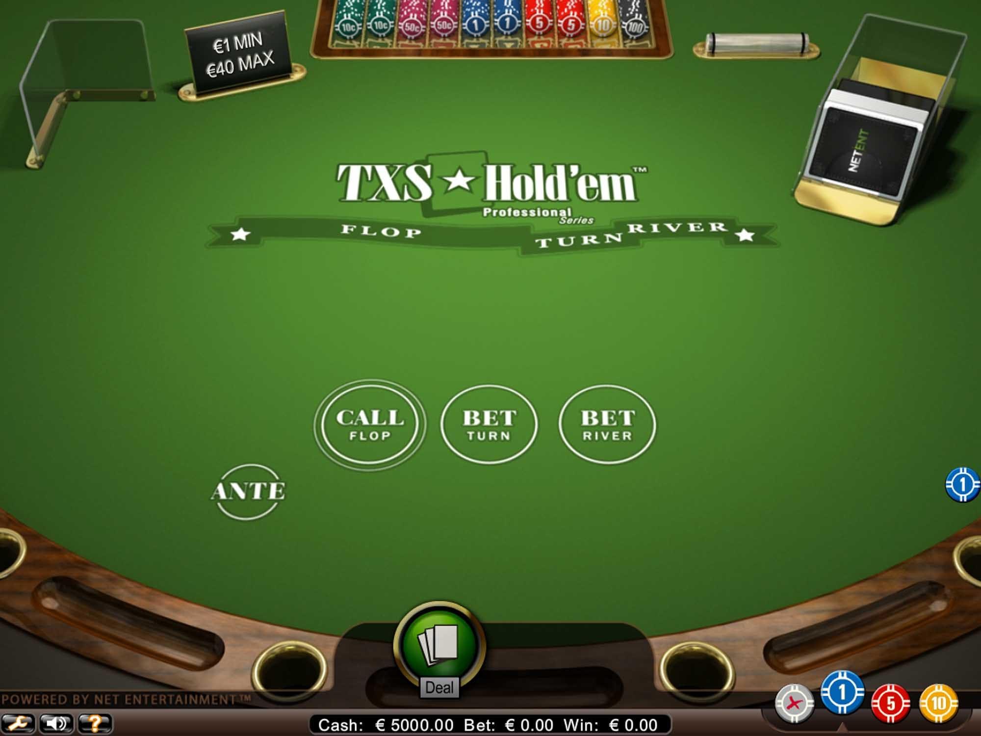 Txs Holdem Pro Casino Game