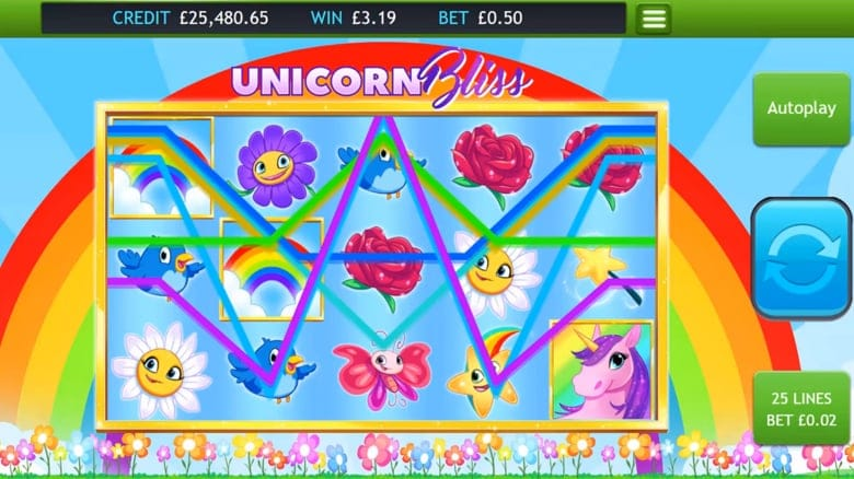 Unicorn Bliss Slots UK
