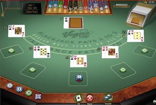 Vegas Strip Blackjack Slots