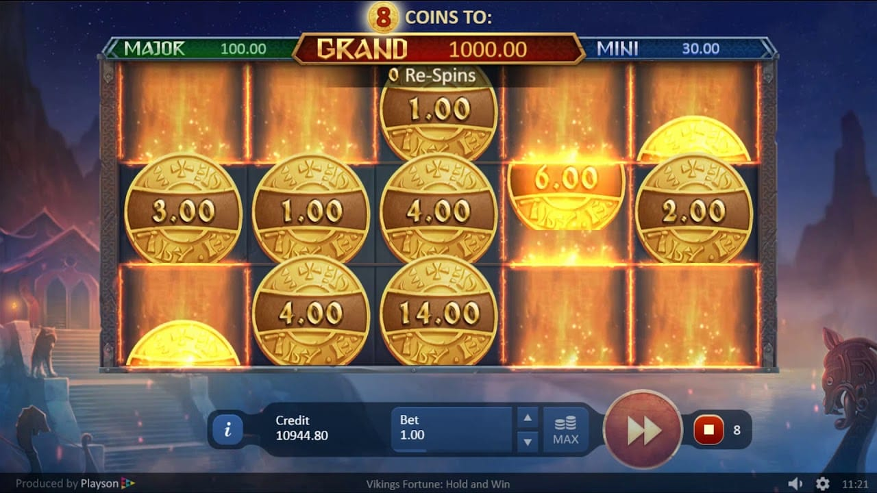 Vikings Fortune: Hold and Win Slot Game