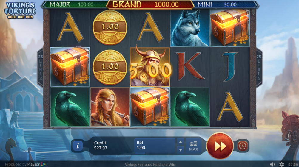 Vikings Fortune: Hold and Win Slots UK