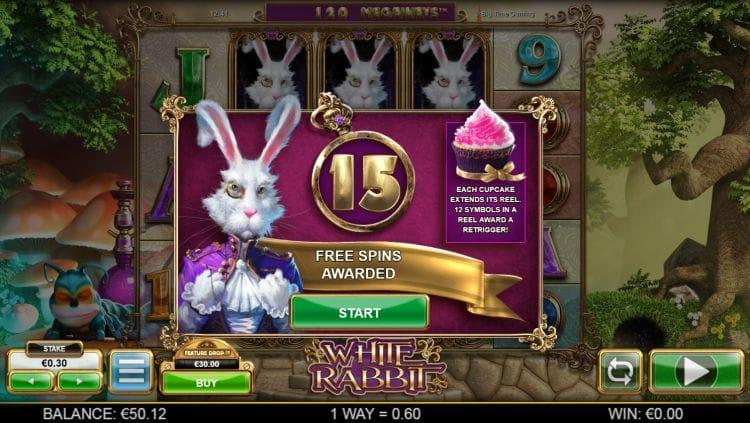 White Rabbit Slot Bonus Spin
