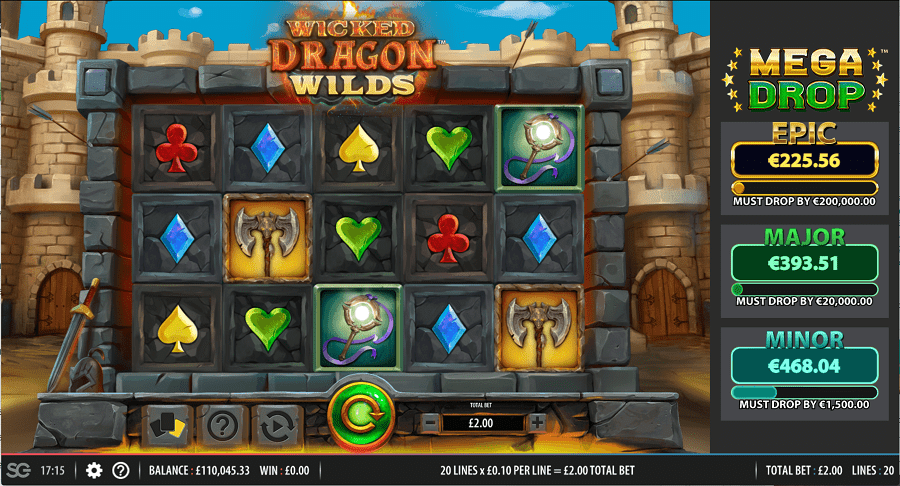 Wicked Dragon Wilds Slots Online