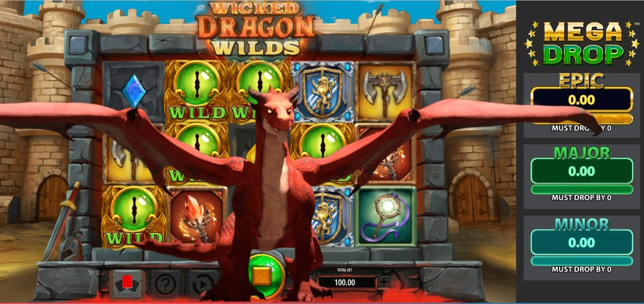 Wicked Dragon Wilds Slot Game