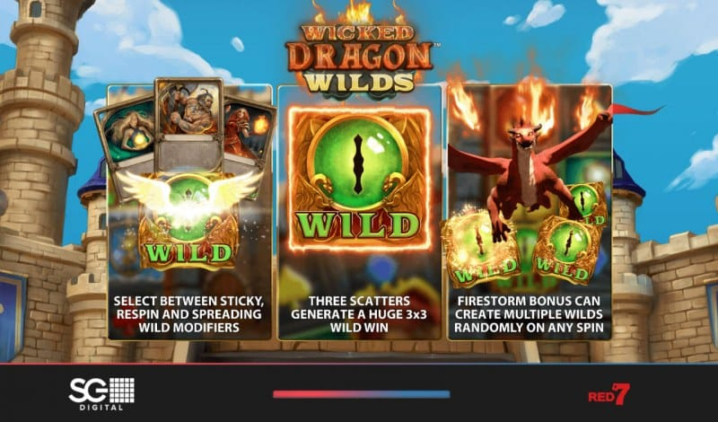 Wicked Dragon Wilds Slots Wild