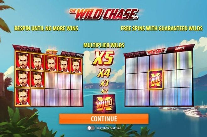 The Wild Chase Bonus Features