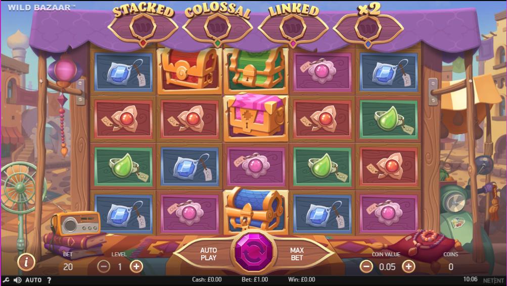 Wild Bazaar Gameplay