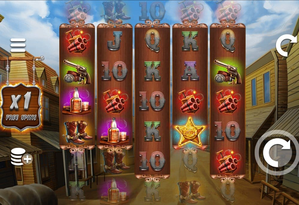 Wild West Zone Slots Online