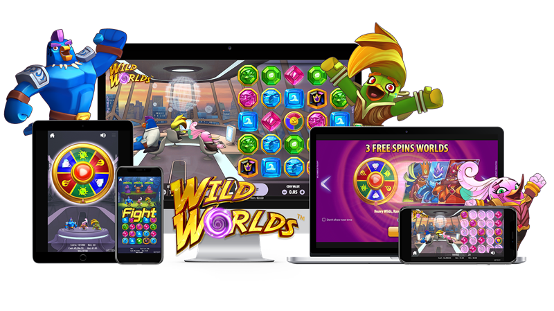 Wild Worlds Mobile Slots