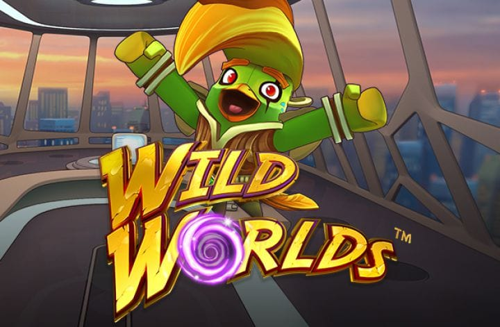 Wild Worlds Slot Game Logo