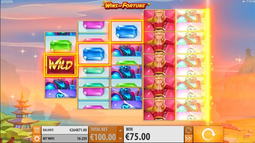 Wins of Fortune Slots Online