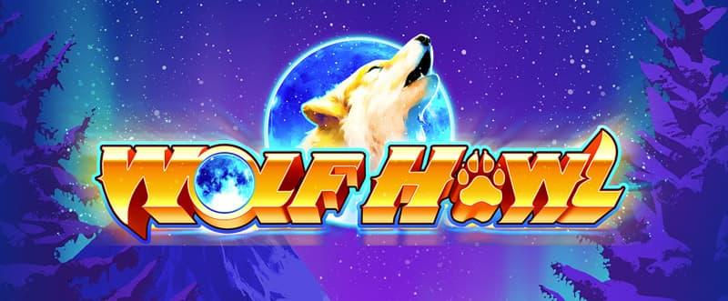 Wolf Howl Slot Logo Mega Reel