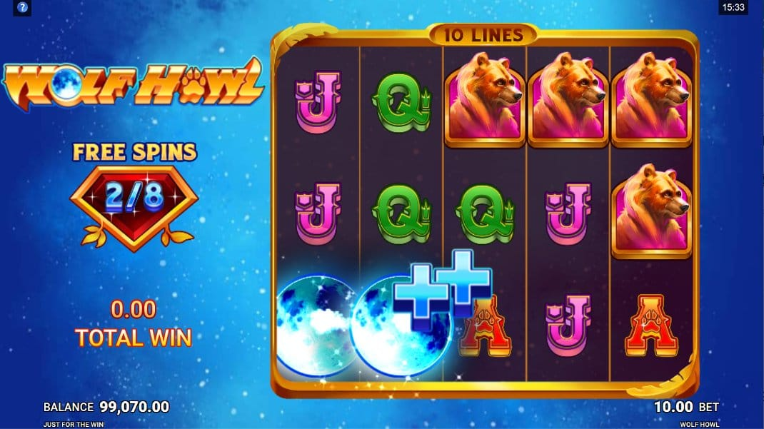 Wolf Howl Slot Gameplay